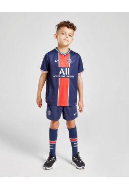 Футбольная форма детская домашняя ПСЖ 2020-2021