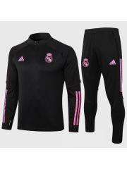 Спортивный костюм черно-розовый Реал Мадрид