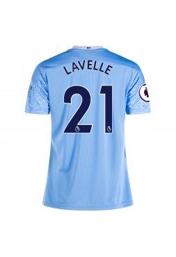 Футболка женская домашняя Манчестер Сити 2020-2021 Lavelle 21 (Роуз Лавелл)