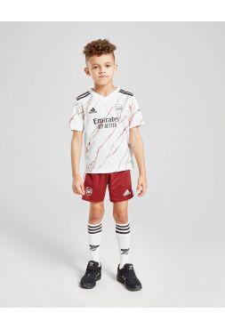 Футбольная форма детская гостевая Арсенал 2020-2021