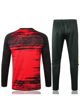 Спортивный костюм красно-черный Манчестер Юнайтед
