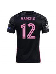 Футболка резервная Реал Мадрид 2020-2021 Marcelo 12 (Марсело)
