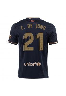Футболка гостевая Барселоны 2020-2021 F de Jong 21(Френки де Йонг )