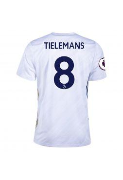 Футболка гостевая Лестер Сити 2020-2021 Tielemans 8 (Юри Тилеманс)