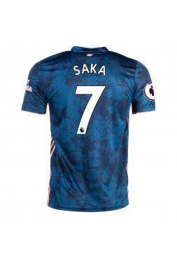 Футболка резервная Арсенал 2020-2021 Saka 7 (Сака)