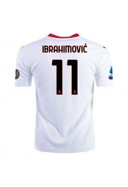 Футболка гостевая Милан 2020-2021 Ibrahimovic 11 (Златан Ибрагимович)