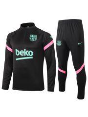 Спортивный костюм черный Барселона