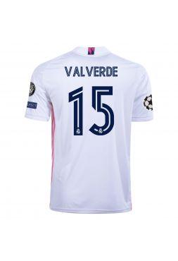 Футболка домашняя Реал Мадрид 2020-2021 Valverde 15  (Федерико Вальверде)
