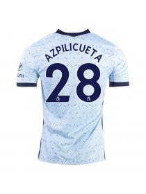 Футболка гостевая Челси 2020-2021 Azpilicueta 28 (Сесар Аспиликуэта)