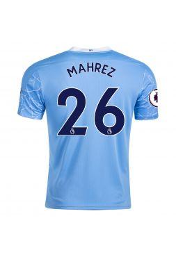 Футболка домашняя Манчестер Сити 2020-2021 Mahrez 26 (Рияд Махрез)
