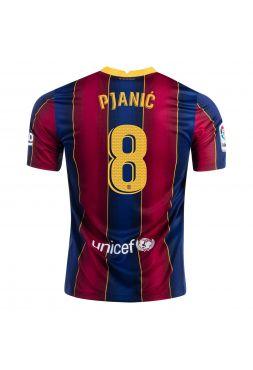 Футболка домашняя Барселоны 2020-2021 Pjanic 8 (Пьянич)