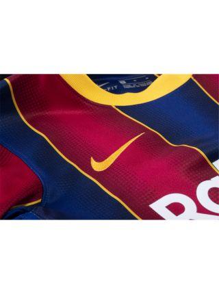 Футболка домашняя Барселоны 2020-2021 Jordi Alba 18 (Жорди Альба)