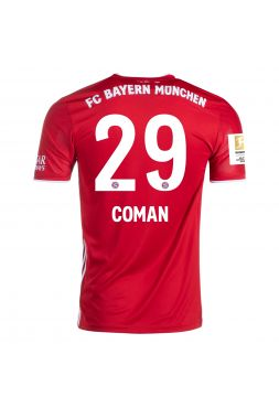 Футболка домашняя Бавария Мюнхен 2020-2021 Coman 29 (Кингсли Коман)