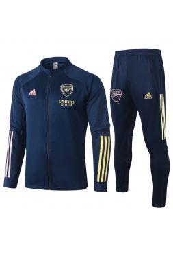 Спортивный костюм синий Арсенал с молнией