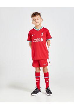 Футбольная форма детская домашняя Ливерпуль 2020-2021