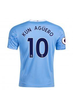 Футболка домашняя Манчестер Сити 2020-2021 Kun Aguero 10 (Серхио Агуэро)