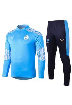 Спортивный костюм светло-синий Олимпик Марсель