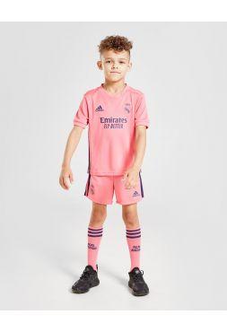 Футбольная форма детская гостевая Реал Мадрид 2020-2021