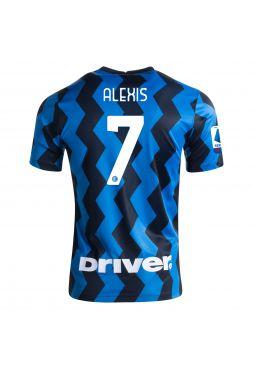 Футболка домашняя Интер Милан 2020-2021 Alexis 7 (Алексис Санчес)
