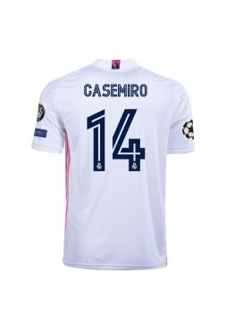 Футболка домашняя Реал Мадрид 2020-2021 Casemiro 14  (Каземиро)