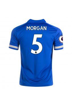 Футболка домашняя Лестер Сити 2020-2021 Morgan 5 (Уэс Морган)