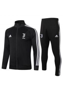 Спортивный костюм черный Ювентус с молнией