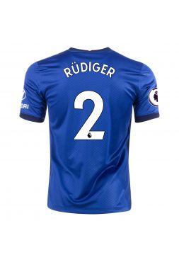 Футболка домашняя Челси 2020-2021 Rudiger 2 (Рюдигер)
