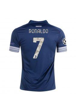 Футболка гостевая Ювентус 2020-2021 Ronaldo 7 (Криштиану Роналду)