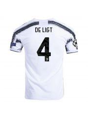Футболка домашняя Ювентус 2020-2021 De Ligt 4 (Маттейс Де Лигт)