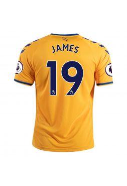 Футболка гостевая Эвертон 2020-2021 James 19 (Хамес Родригес)