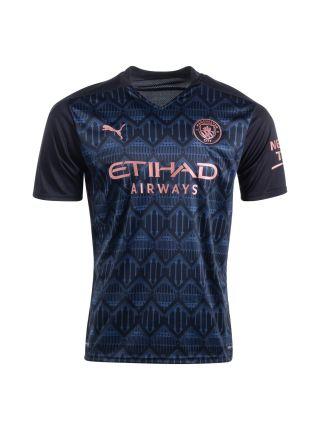 Футболка гостевая Манчестер Сити 2020-2021 Bernardo 20 (Бернарду Силва)