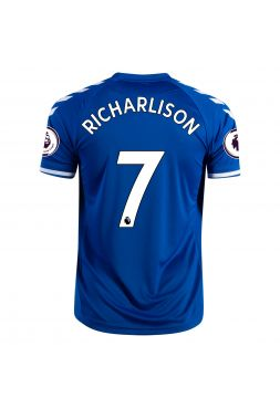 Футболка домашняя Эвертон 2020-2021 Richarlison 7 (Ришарлисон де Андраде)