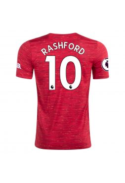 Футболка домашняя Манчестер Юнайтед 2020-2021 Rashford 10 (Маркус Рашфорд)