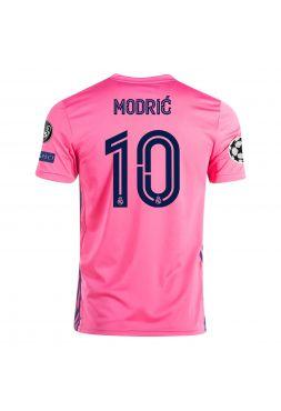 Футболка гостевая Реал Мадрид 2020-2021 Modric 10 (Лука Модрич)