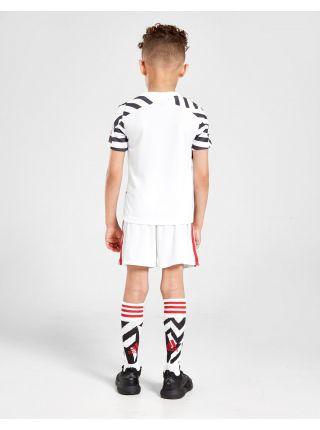 Футбольная форма детская резервная Манчестер Юнайтед 2020-2021