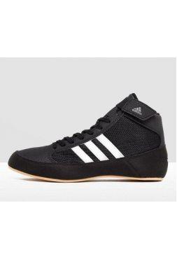 Детские борцовки Adidas  HVC 2 Black/White