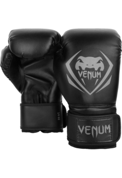 Боксерские перчатки Venum Contender Black/Grey