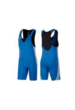 Трико Adidas борцовское Base Wrestler синее