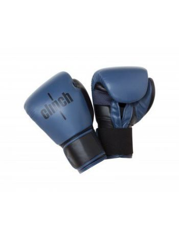 Боксерские перчатки Clinch Punch сине-черные