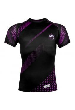 Рашгард Venum Rapid SS Black/Purple