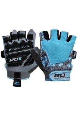 Перчатки для зала RDX AMARA Blue/Grey