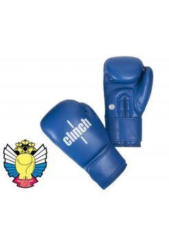 Перчатки для бокса Clinch Olimp синие