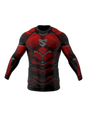 Рашгард SMMASH Red Armour LS