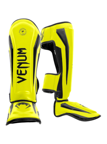 Накладки на ноги Venum Elite Neo Yellow
