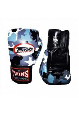 Перчатки для бокса Twins FBGV-UG камо-серый