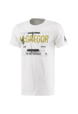 Футболка Reebok McGregor White