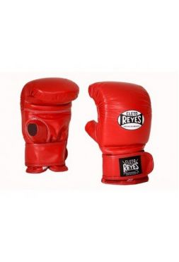 Перчатки Cleto Reyes снарядные на липучке Red