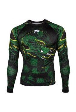 Рашгард Venum Green Viper Green/Black
