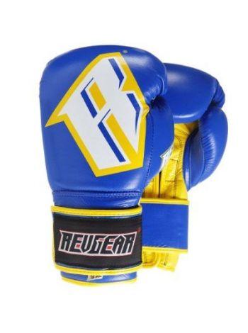 Боксерские перчатки Revgear S3 Sentinel Pro Blue Yellow