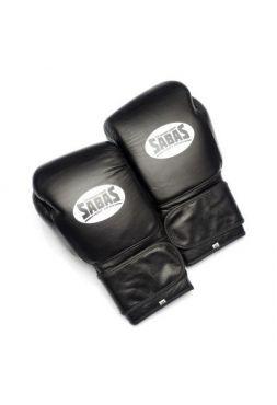 Перчатки для бокса SABAS SuperSoft Velcro Black